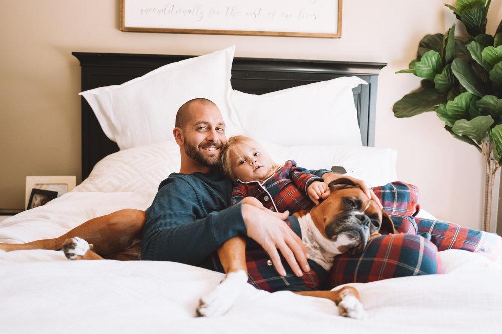 Matching Family Pajamas Dog Pajamas -- The Overwhelmed Mommy Blogger