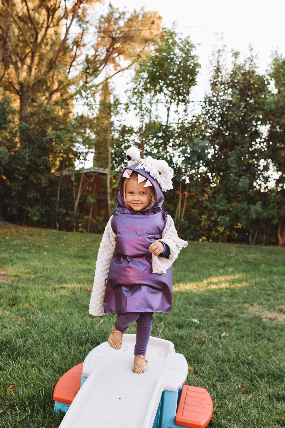 Monsters Inc halloween Costumes - Cute Family Pregnancy Halloween Costumes - The Overwhelmed Mommy Blogger