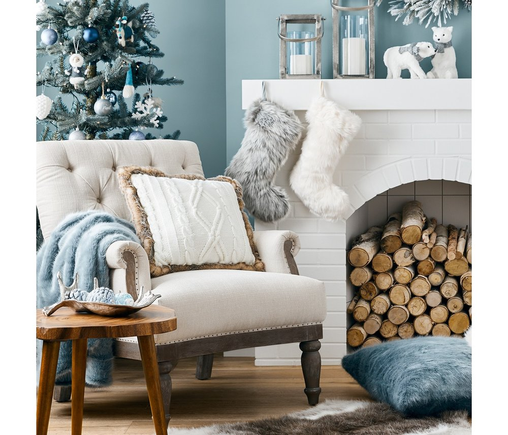 Winter Modern Home Decor Target - The Overwhelmed Mommy Blogger