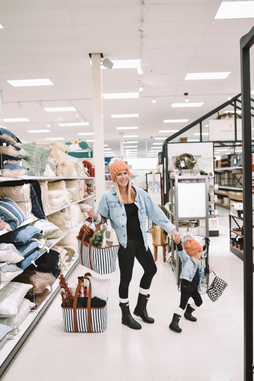 Winter Modern Home Decor Target - The Overwhelmed Mommy Blogger