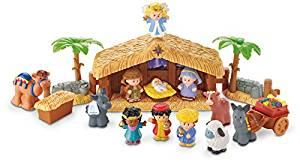 Kids Nativity Scene - Toddler Girl Holiday Christmas Gift Ideas Unique - The Overwhelmed Mommy Blogger