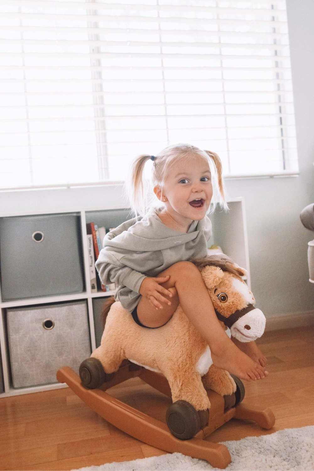 Baby Rocking Horse - Toddler Girl Holiday Christmas Gift Ideas Unique - The Overwhelmed Mommy Blogger