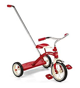 Baby Tricycle with Handle to Push - Toddler Girl Holiday Christmas Gift Ideas Unique - The Overwhelmed Mommy Blogger