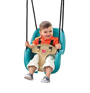 Outdoor Toddler Swing - Toddler Girl Holiday Christmas Gift Ideas Unique - The Overwhelmed Mommy Blogger