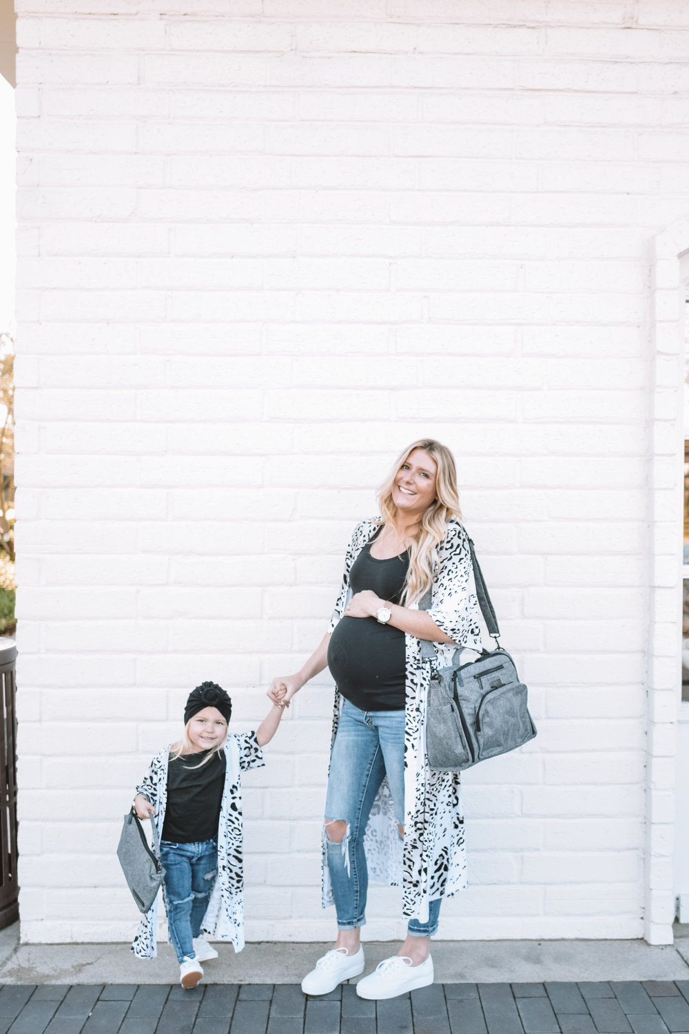 Mommy and Me Blogger Clothes - The Overwhelmed Mommy Blogger