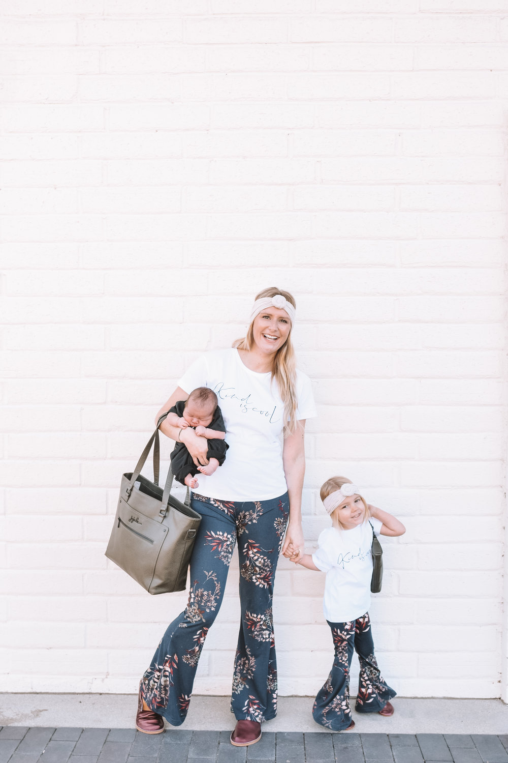 Mommy and Me Cothes Fashion Bell Bottoms - The Overwhelmed Mommy Blogger