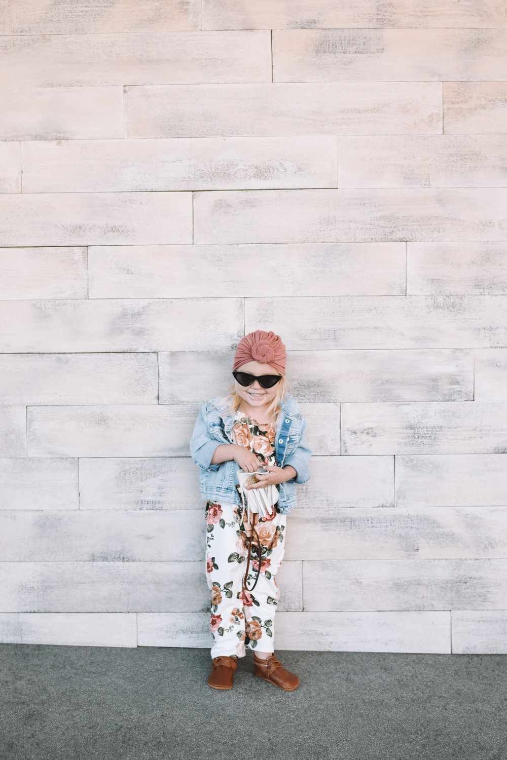 Cute Kids Clothes - Baby Floral Romper - The Overwhelmed Mommy Blogger