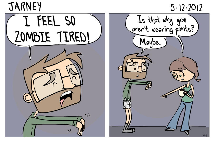 zombie tired