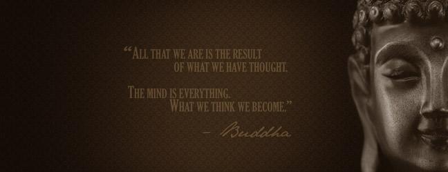 buddha what we think