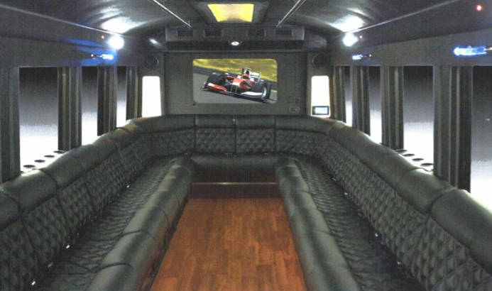 Ou  r 24 passenger Limo bus is perfect for any party!                                                    CONTACT US NOW