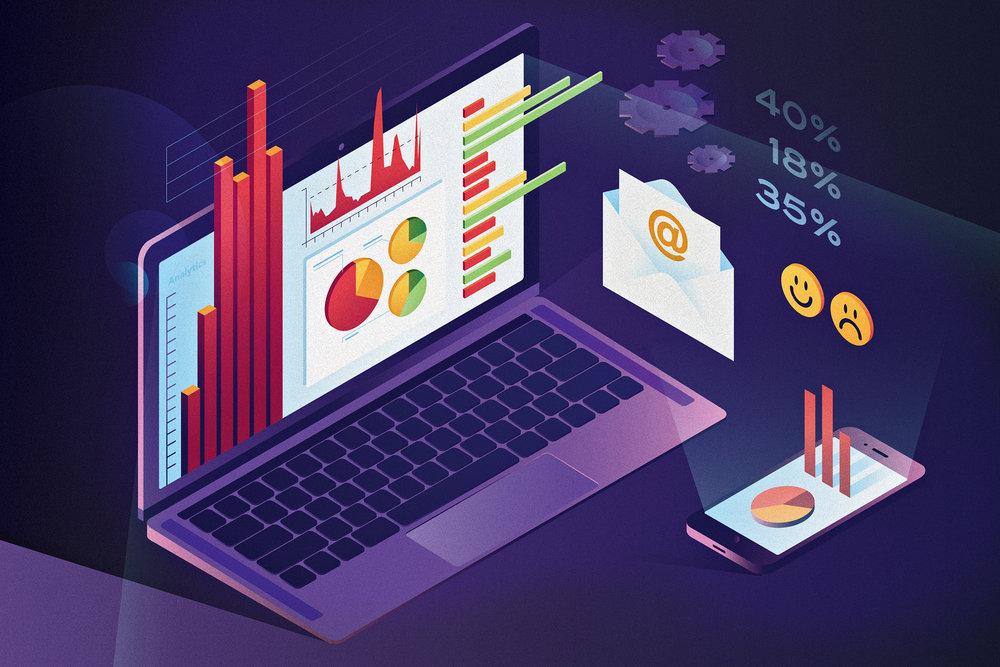 Analytics-driven Development for E-mail