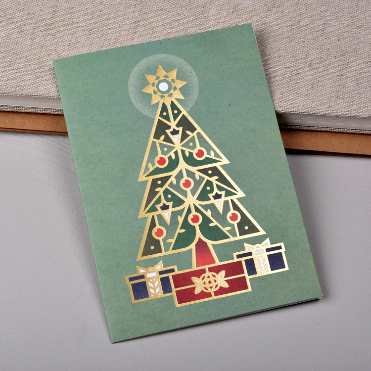 Christmas Tree Card, photo courtesy of Stefan Govasli