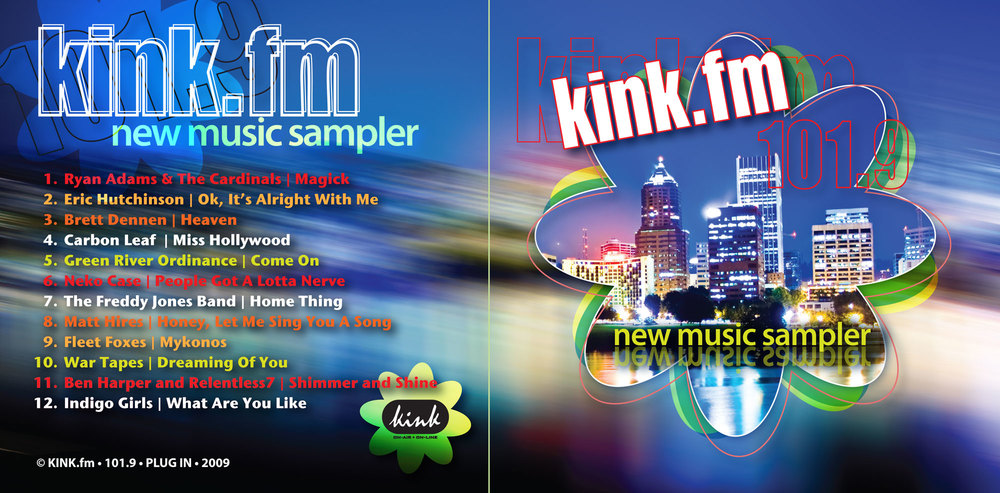 kink.fm new music cd sampler
