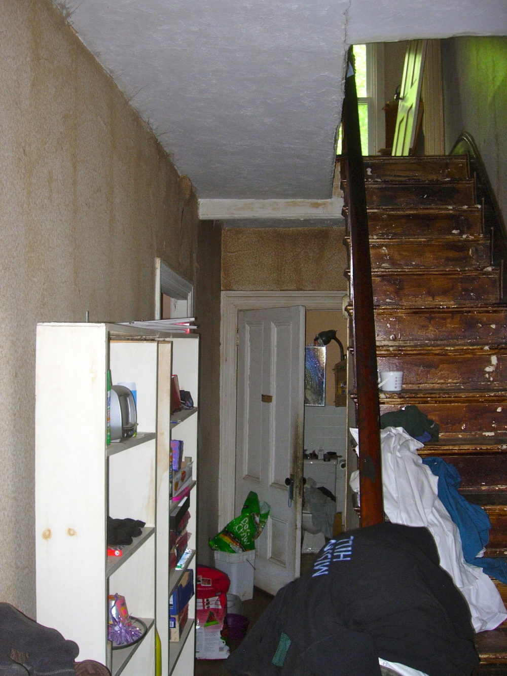 Before - stair hall