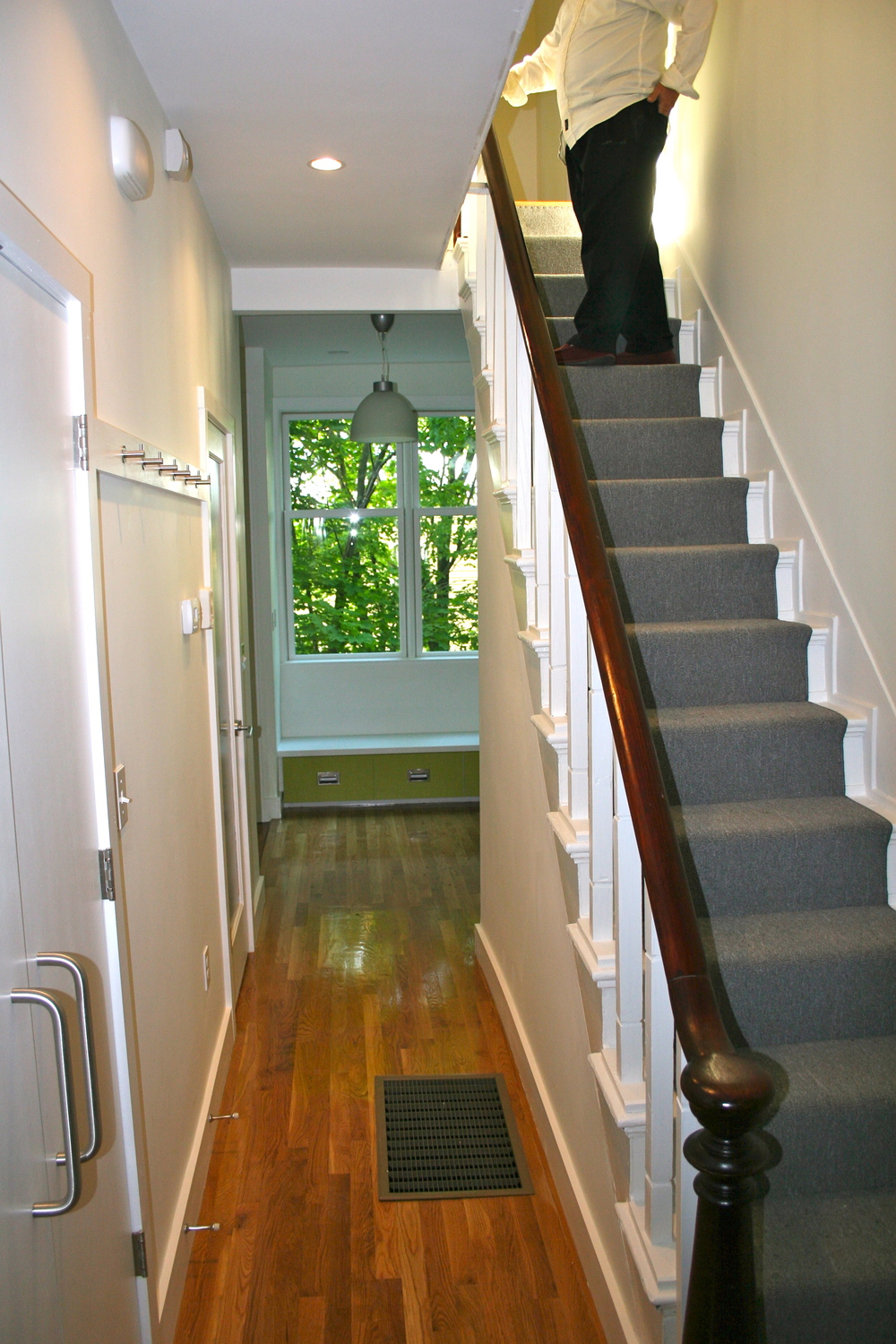 After - stair hall