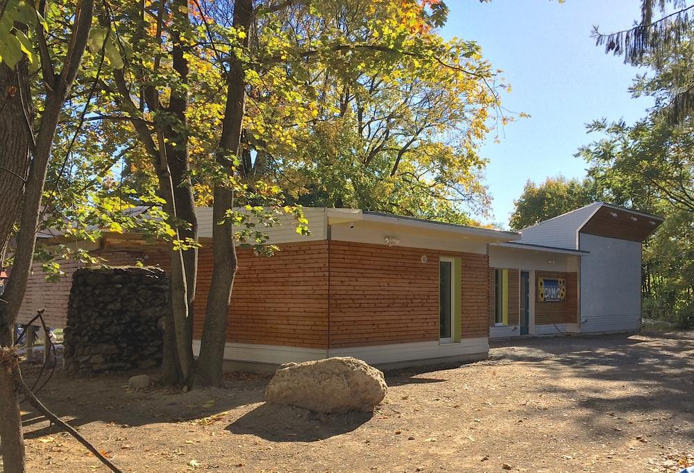 exterior classroom