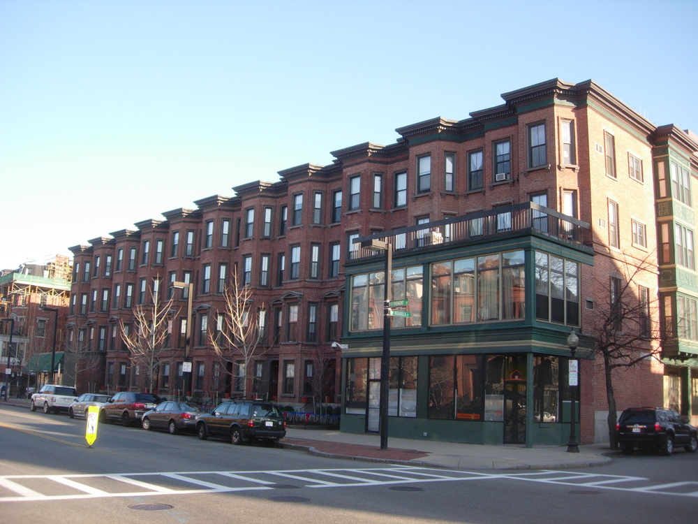 Existing Tremont street facade