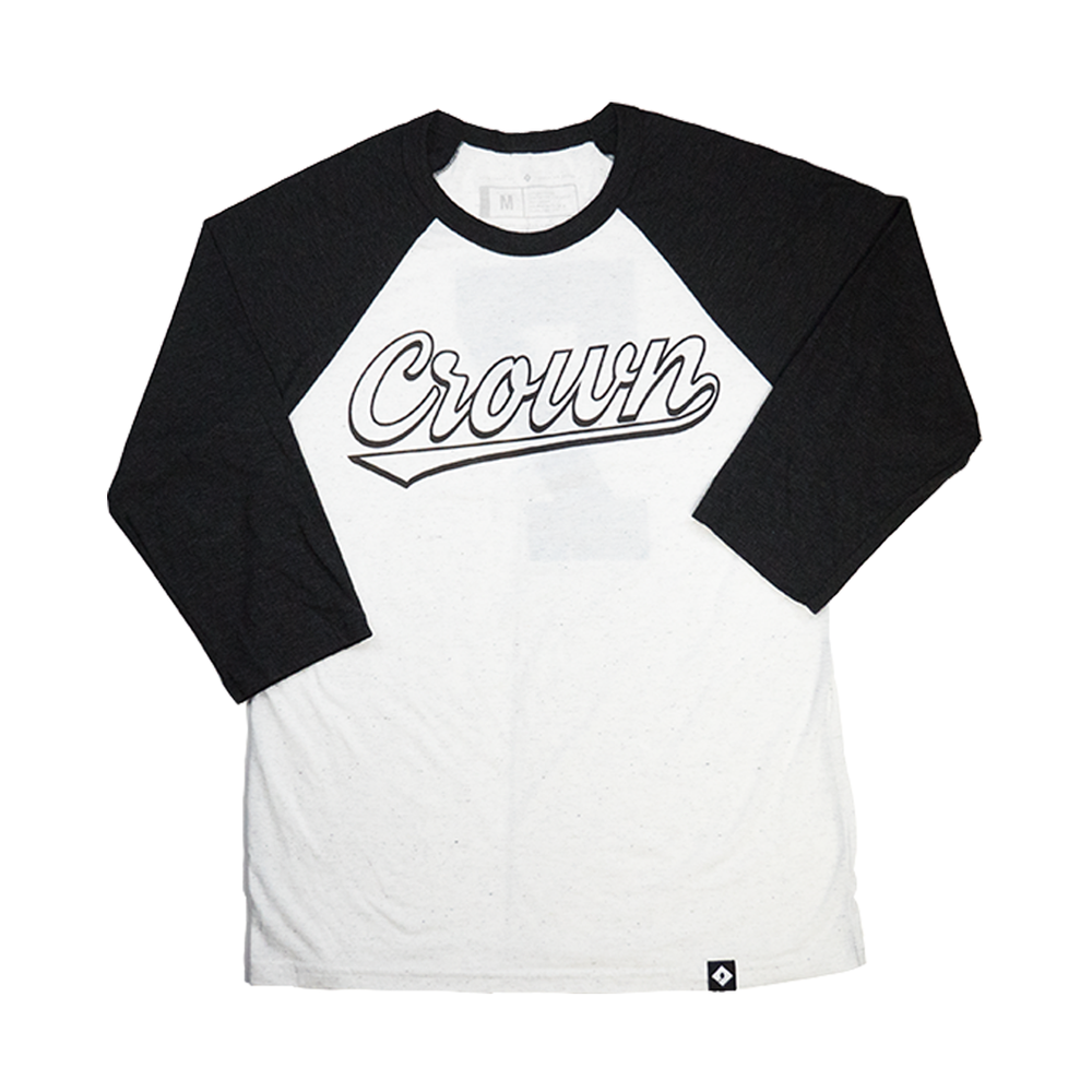 Crown Baseball Tee