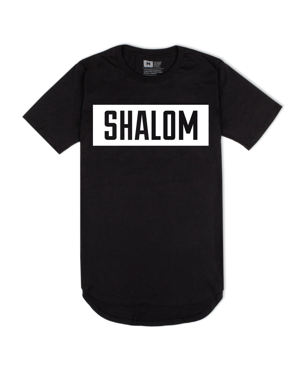Shalom Droptail Tee Front