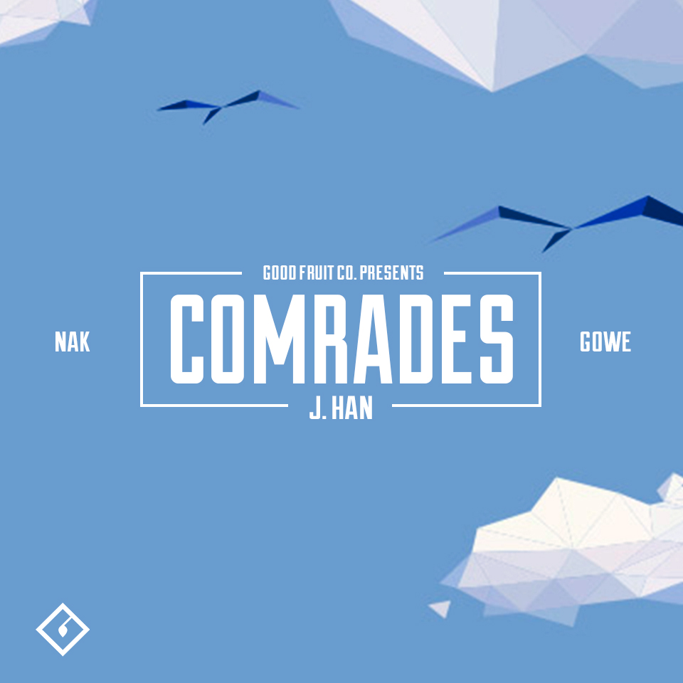 """Comrades"" Single Artwork"