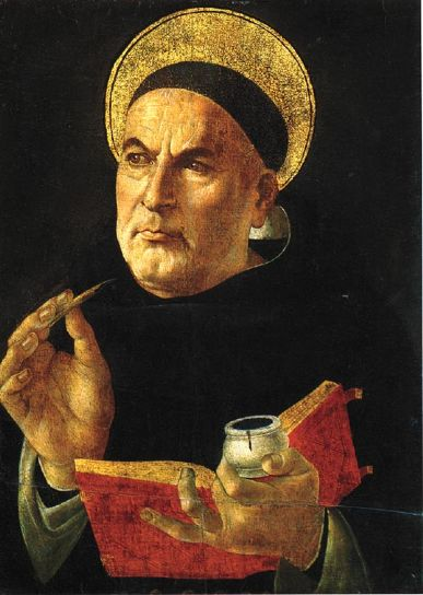 St. Thomas Aquinas, 1225 - 1274 CE