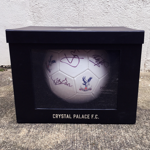 Crystal Palace 2015/16 Signed Football