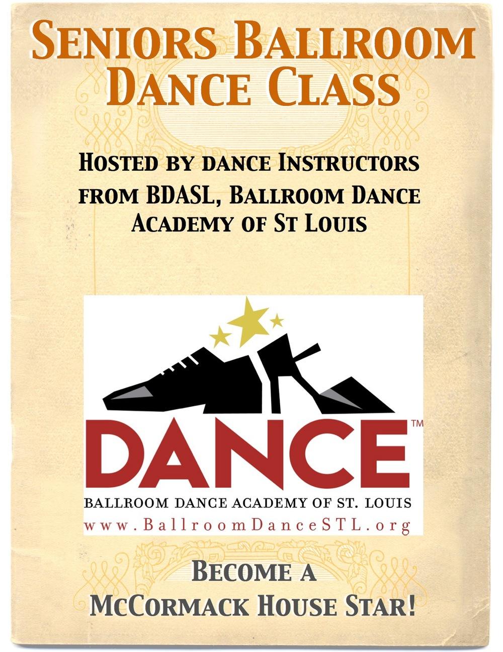 Seniors Dance Poster