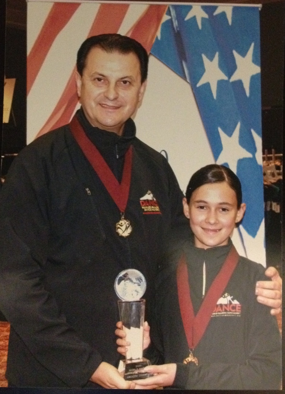 Vassily Lyashenko & Valerie Pelts 2009 World Pro-Am Preteen Champion  Ballroom Dance Hall of Fame, Columbus, OH