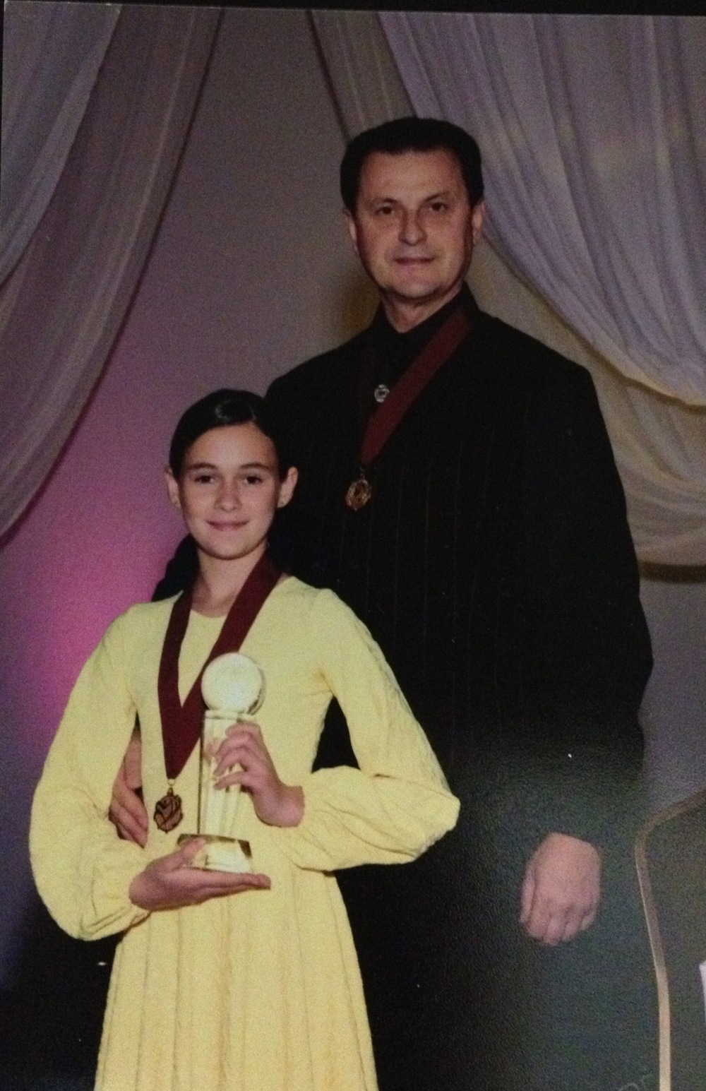 Valerie Pelts & Vassily Lyashenko 2007 National Pro-Am Preteen Champion International Standard, Miami, FL