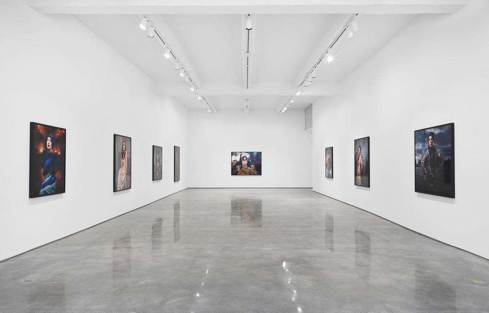 Cindy Sherman. Installation view, 2016. Metro Pictures, New York  Courtesy the artist and Metro Pictures New York  Photo: Genevieve Hanson