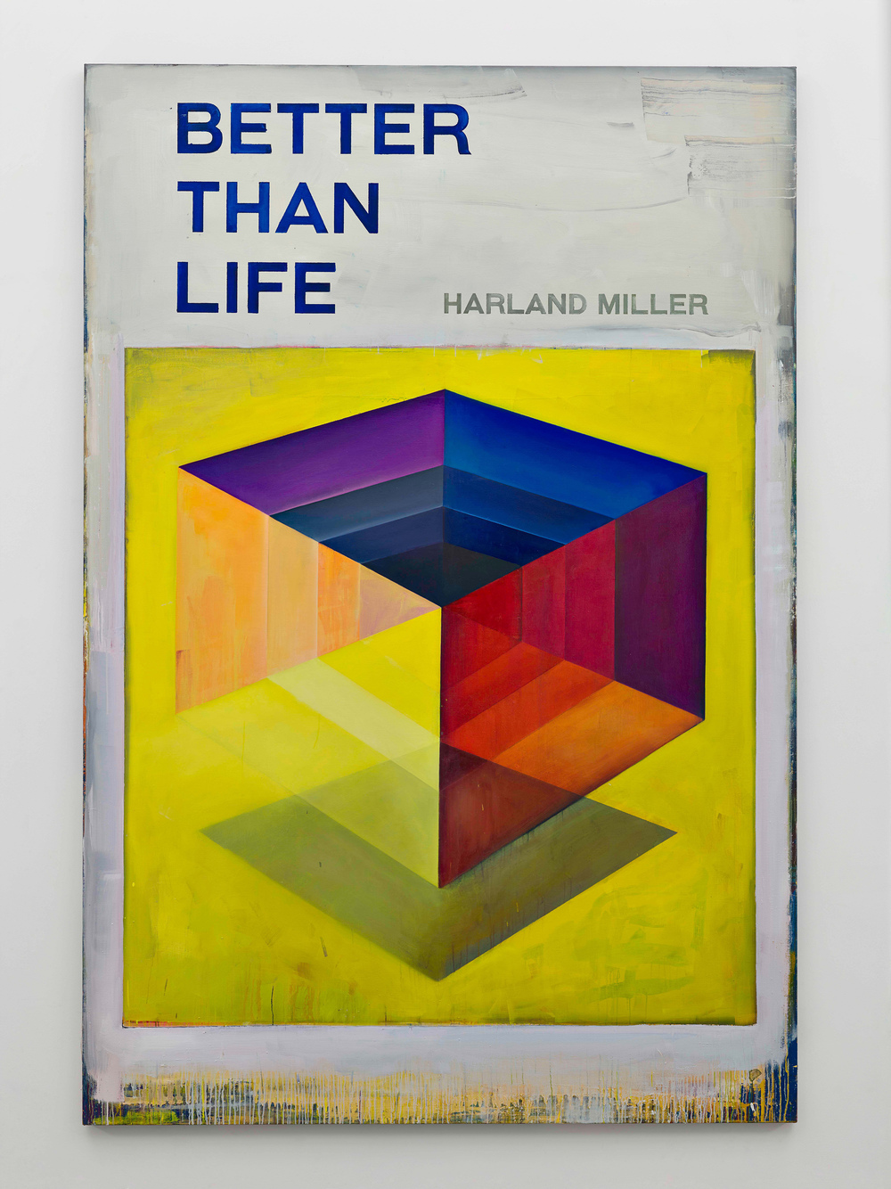 Harland Miller, Better Than Life, 2016, Courtesy the artist and BlainSouthern, Photo Peter Mallet