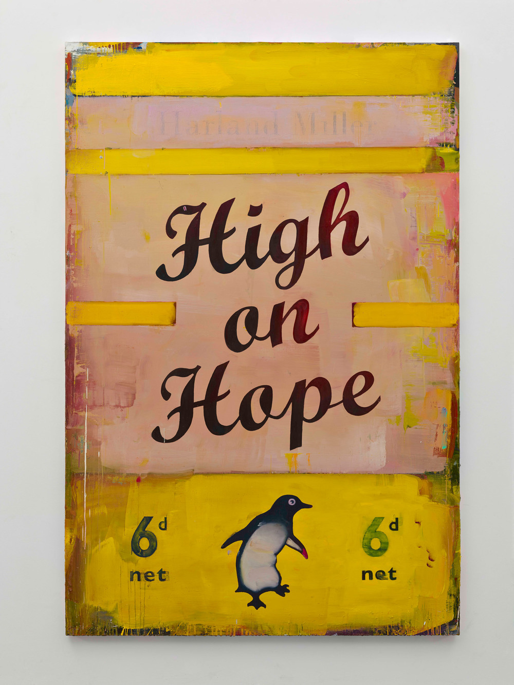 Harland Miller, High On Hope, 2016, Courtesy the artist and BlainSouthern, Photo Peter Mallet