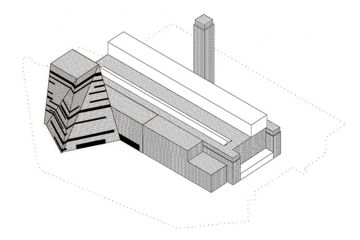 Cuts and Bricks architectural concept © Herzog & de Meuron