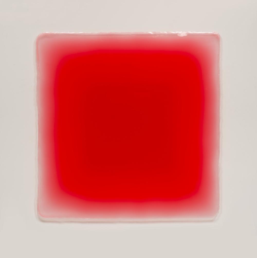 Peter Alexander, Big Red Puff, 2015 urethane 58 x 59 inches Image courtesy of Parrasch Heijnen Gallery