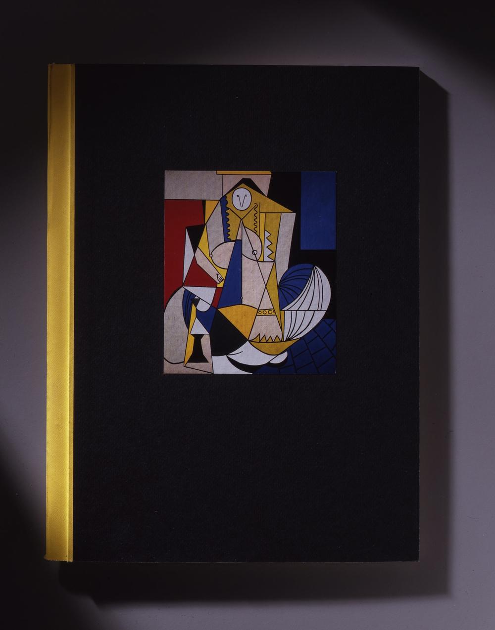 Lichtenstein's Picassos: 1962-1964 - believed to be Gagosian Gallery's first publication. Design by Dan Miller Design