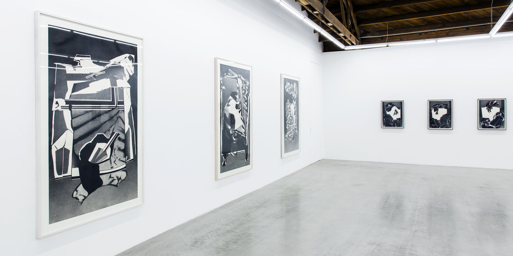 Deborah Remington  A Life in Drawing  , 1950 - 2006  Installation view Image courtesy Parrasch Heijnen Gallery