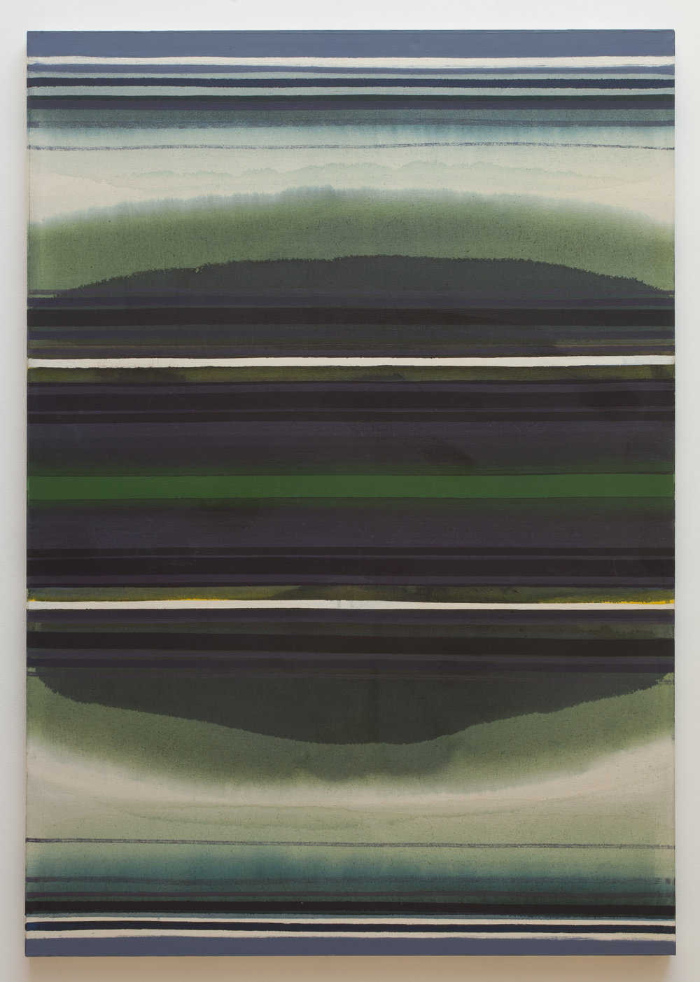 Coast Stripe  (1961), oil on canvas, 74.5 x 52.5""