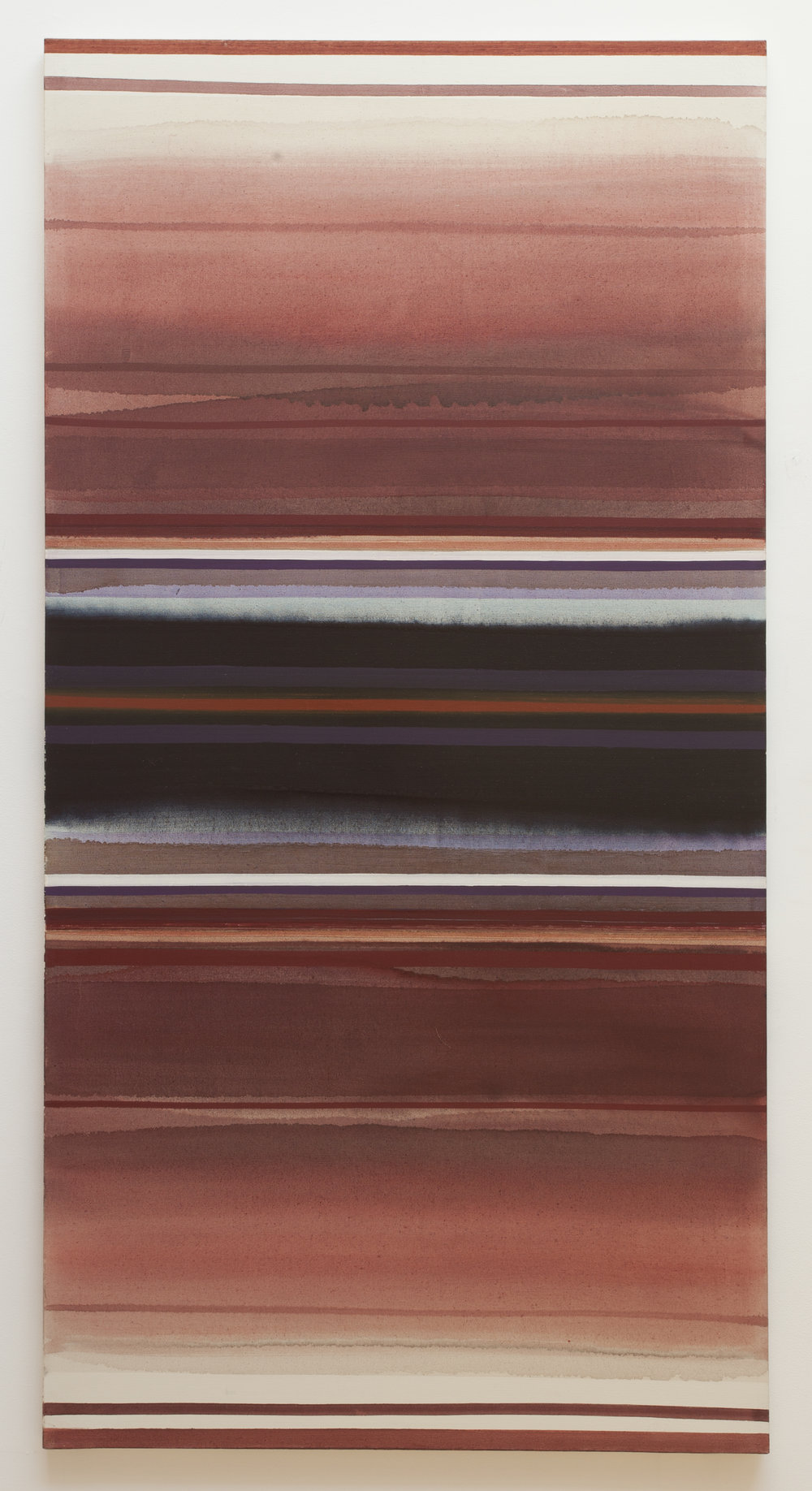 Untitled  (1961), oil on canvas, 96 x 49.5""