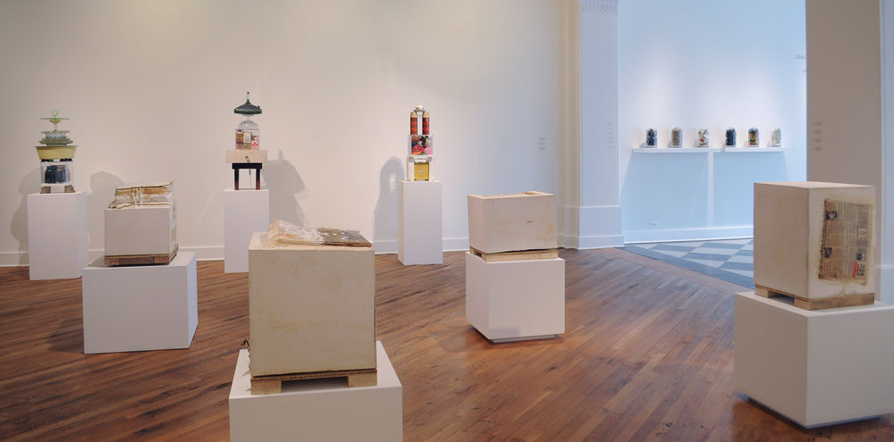 Organizational Strategies for the After Life, installation view, David Klein Gallery, Detroit