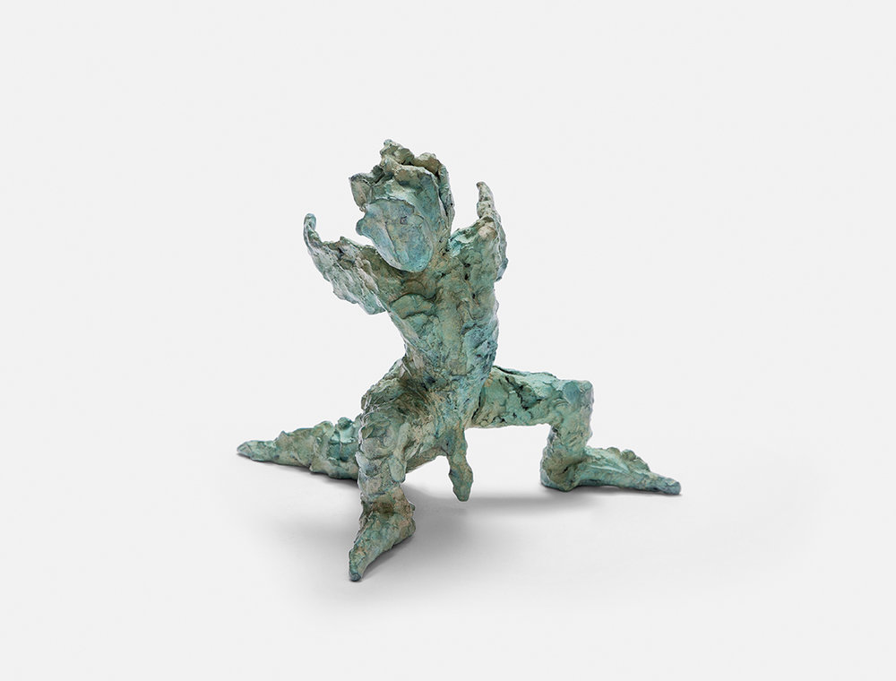 Plonk, 1999, bronze, 25 × 28 × 28 cm(9.84 × 11.02 × 11.02 in) © Jonny Star, Photo: Jens Bösenberg