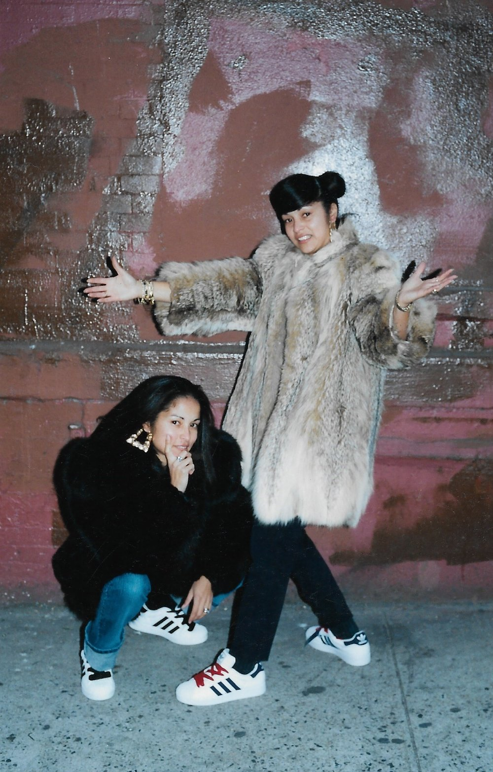 Jamel Shabazz ,  Sisters SoHo, NYC , 2003. Photo print. Courtesy of the artist. Photo:  Jamel Shabazz . From upcoming exhibition   RESPECT: Hip-Hop Style & Wisdom  .