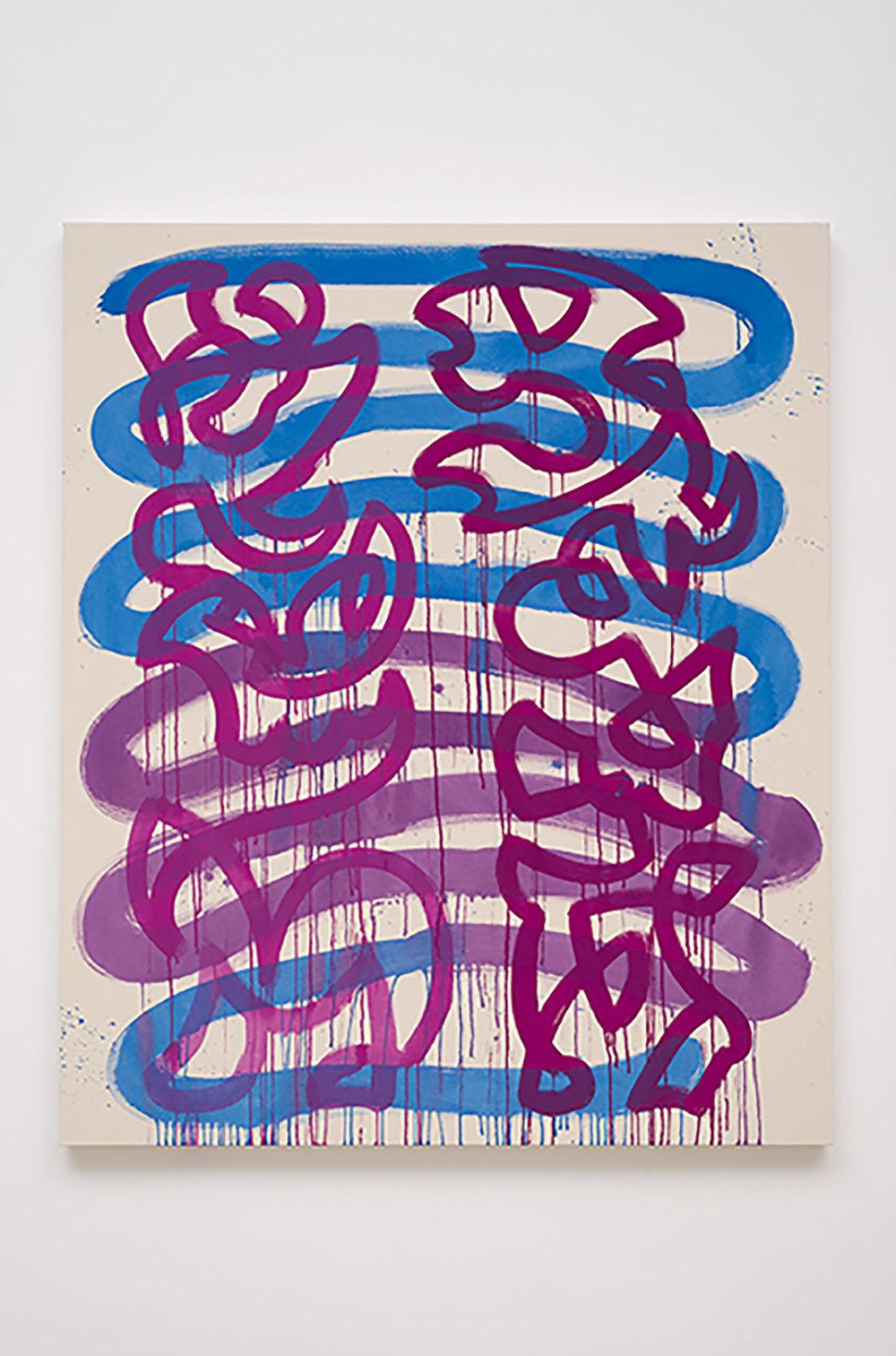 Monique Prieto  Tarantella , 2014 Oil on primed canvas 152.4 x 121.9 cm 60 x 48 in Photo: © Monique Prieto Courtesy of Chimento Contemporary