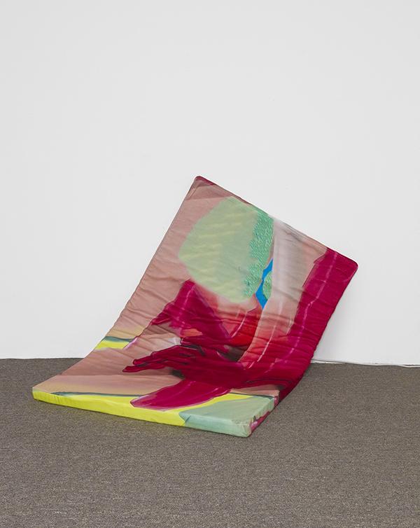 Anja Salonen  Soft space must take its toll , 2017 Print on fleece, foam 152.4 x 91.4 cm 60 x 36 in Photo: Copyright Anja Salonen Courtesy of the Artist
