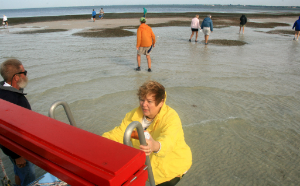 Englewood Shell Club hits the sandbar!