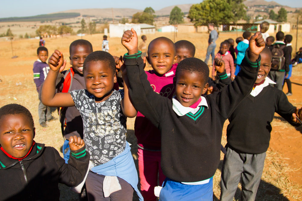 Swazi Children at Gege   During out trip to Swaziland summer 2016, we got to play with the kids at the Children's Hopechest Gege CarePoint. They are absolutely priceless.