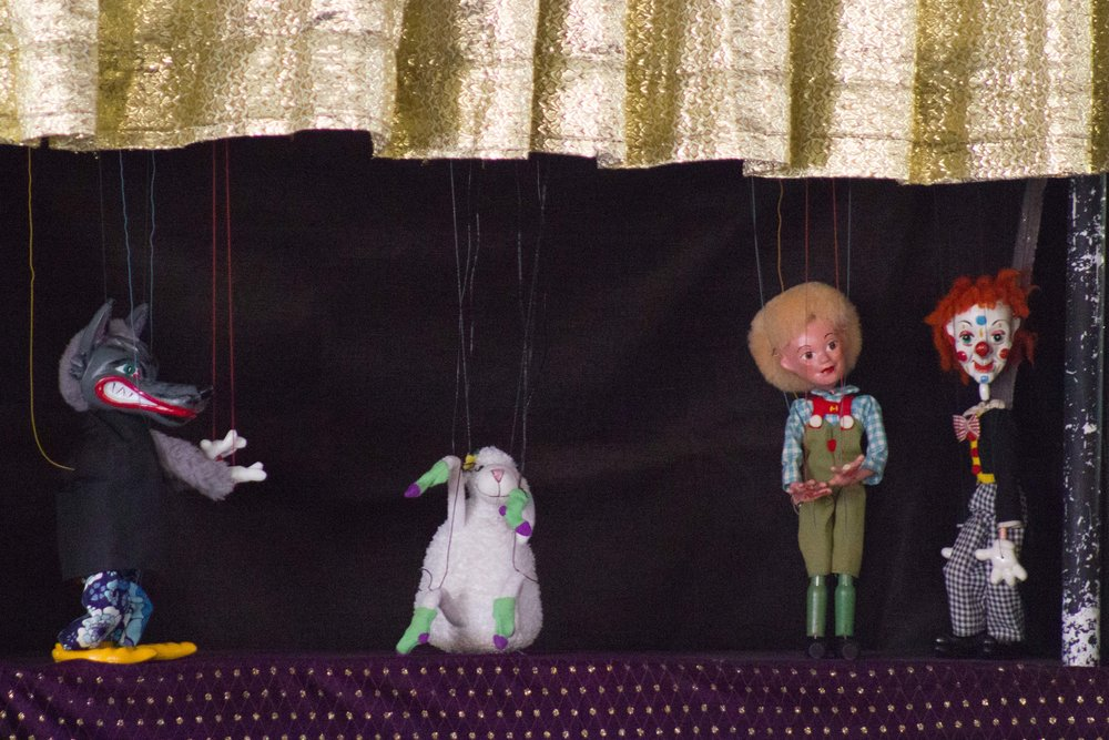 Marionette Show, the parable of the lost sheep