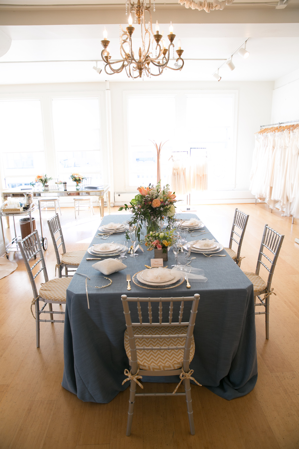 Styled Shoot at the Amy Kuschel Salon in San Francisco | Bella Notte Events | San Francisco Wedding Planning