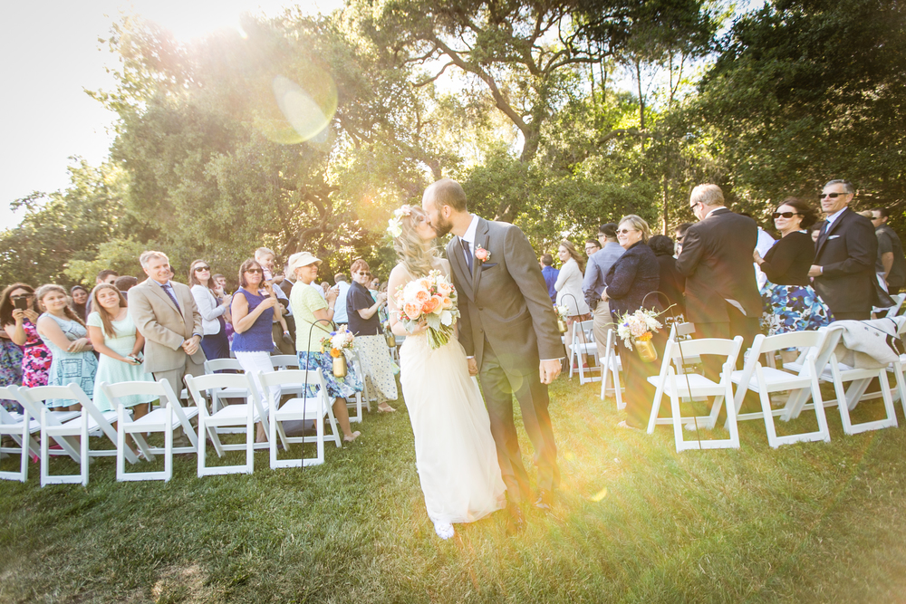 Navy | Peach | Sky Blue | Boho | Oak Tree | Outdoor wedding | Floral Crown | Palo Alto