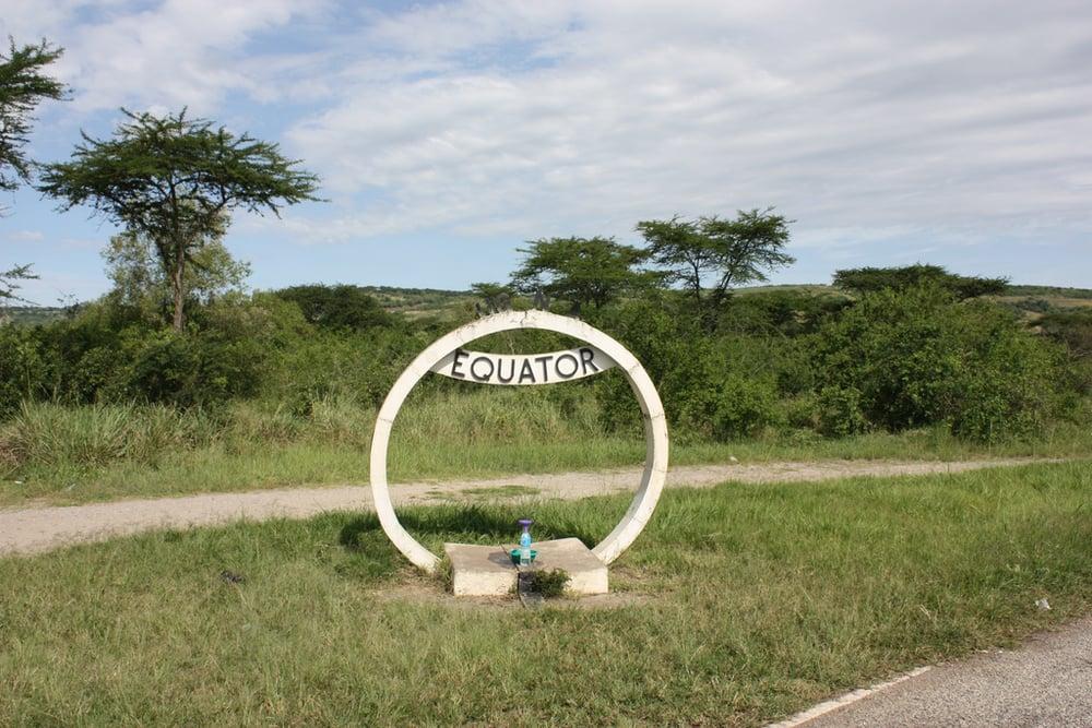 Equator at Kasese, Uganda