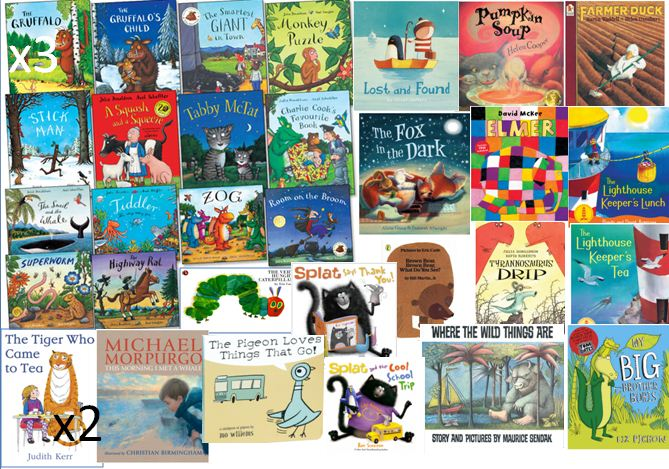 Picture books for our nursery and early primary classes
